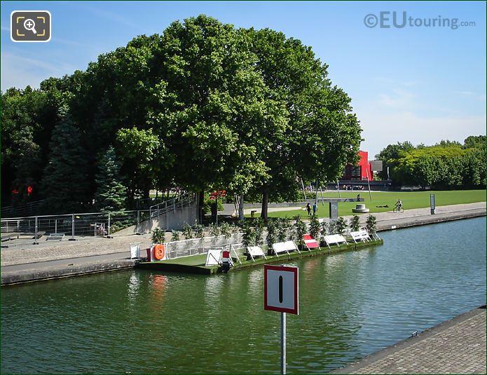 Pont Flottant De La Villette Paris