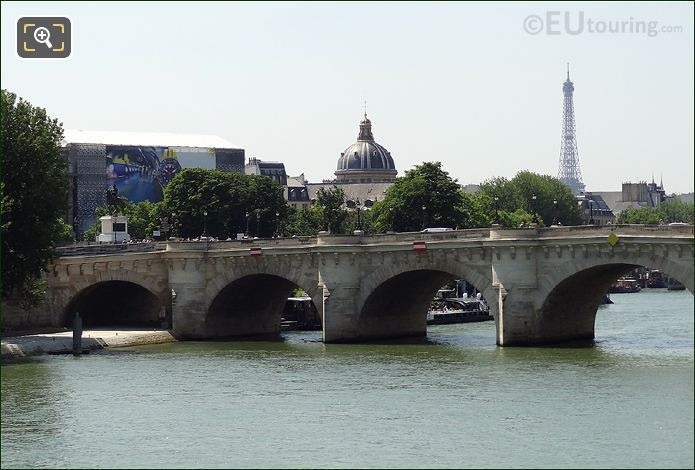 Photo Of The Pont Neuf Bridge In Paris