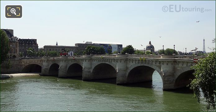 Pont Neuf Bridge And The Ile De La Cite