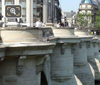 The Pont Neuf Mascarons Faces