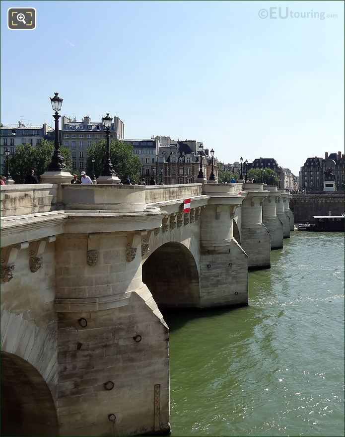 Pont Neuf From The Right Bank