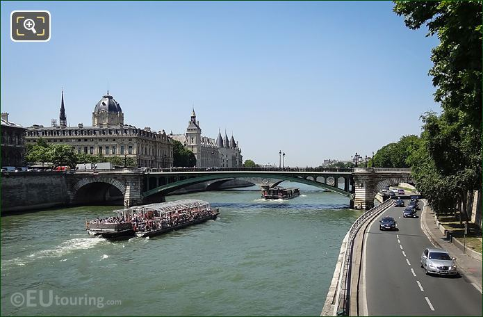 Pont Notre-Dame In Paris