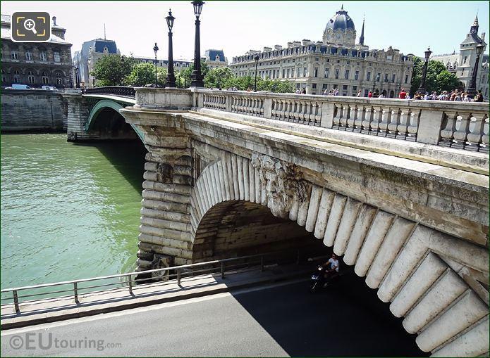 Pont Notre-Dame Dionysus Sculpture