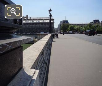 Pont Notre-Dame Pedestrian Path