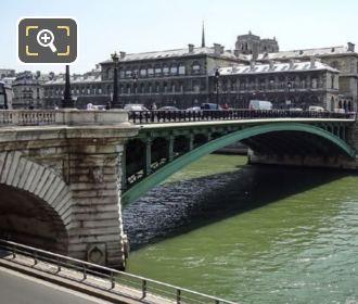 Pont Notre-Dame Central Metal Arch