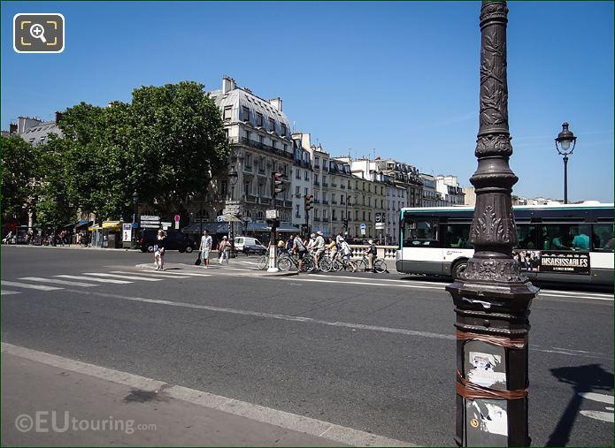 Pont Saint Michel Quai Des Grands Augustins
