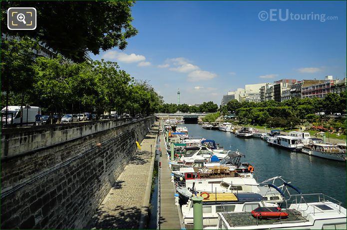 Port De l Arsenal And Place Bastille