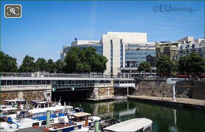 Canal Saint-Martin Tunnel Port De l Arsenal