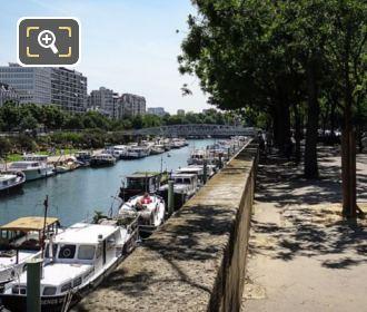 Boulevard Bourdon At Port De l Arsenal