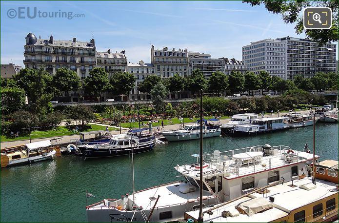 Port De l Arsenal Gardens