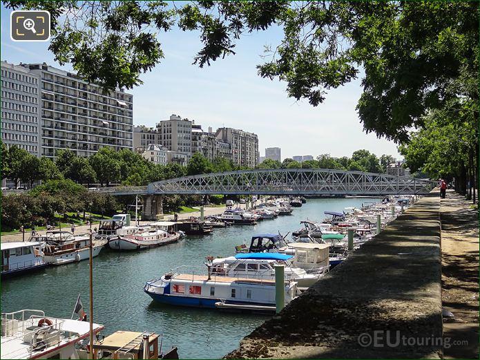 Passerelle Mornay Over Port De l Arsenal