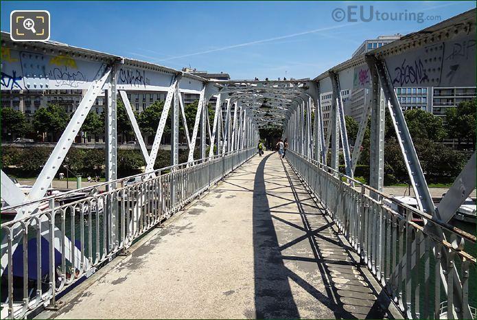 Passerelle Mornay Bridge At Port De l Arsenal