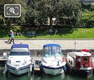 Port De l Arsenal Pomenade