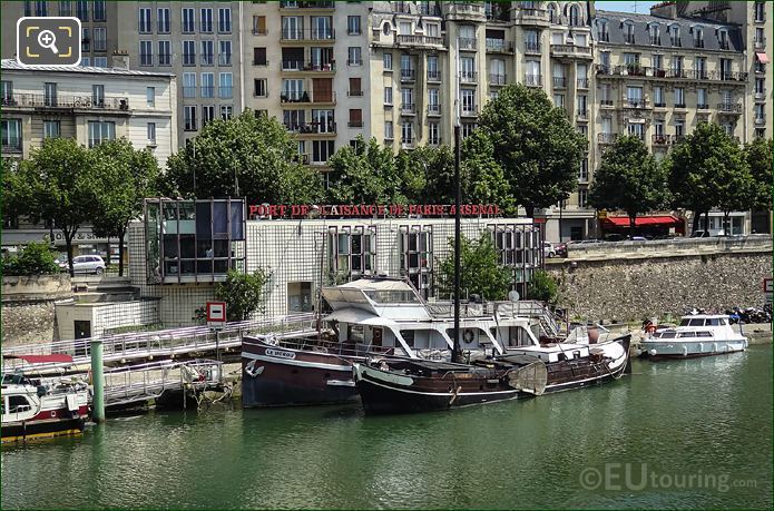 Port De l Arsenal Harbour Offices