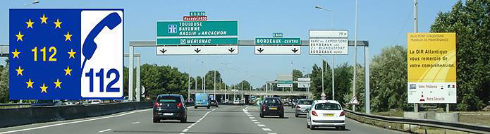 70km speed sign in France