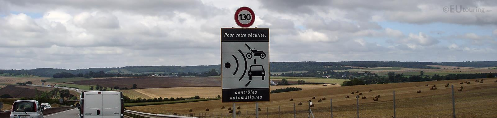 General Regulations For Driving In France