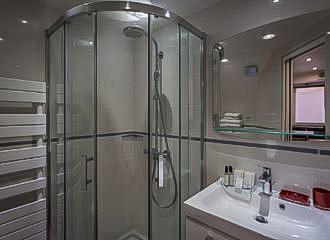 Residence Hotel De l Horlodge Bathroom