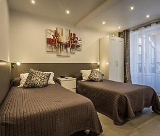 Residence Hotel De l Horlodge Bedroom