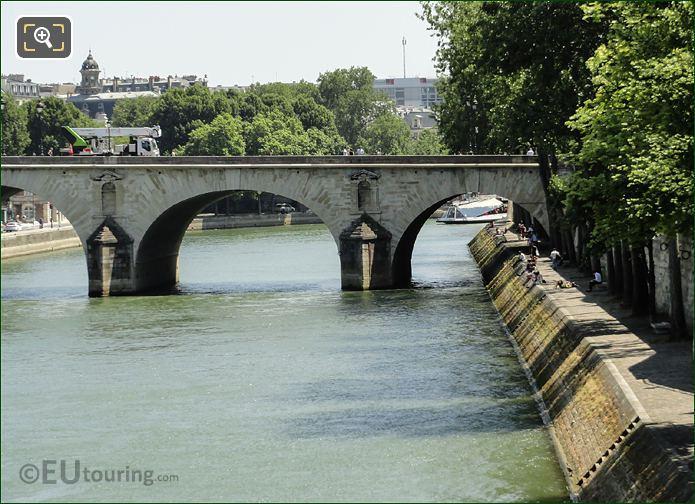 River Seine And Quai Bourdon Paris