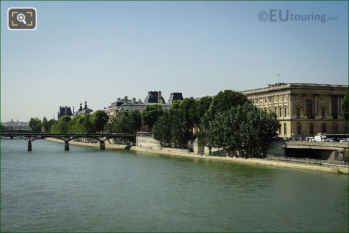 Quai Des Tuileries And The River Seine