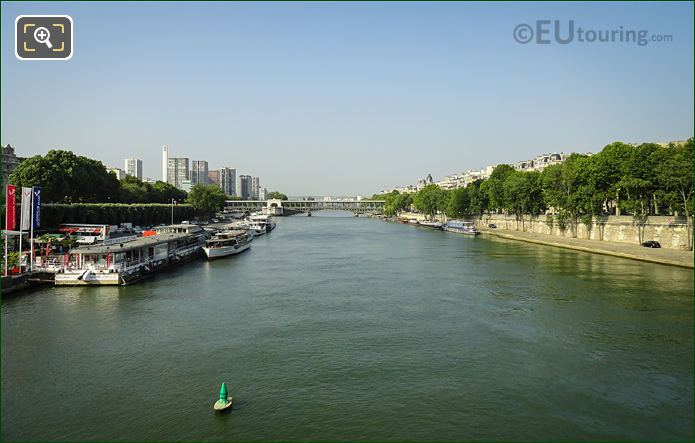 Port De Suffren, Port Debilly And River Seine