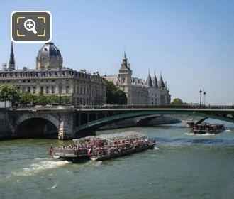 River Seine And The Ile De La Cite