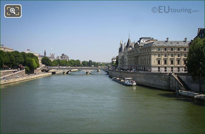 Quai De l Horloge, Quai De La Megisserie, River Seine