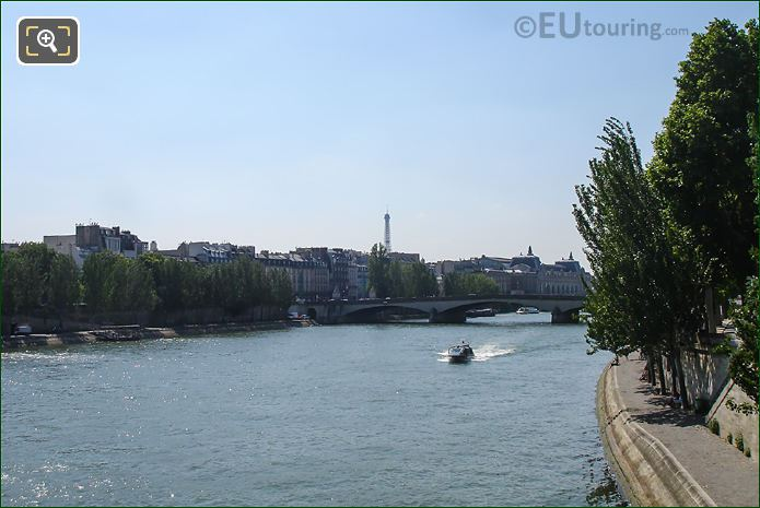 River Seine And Quai Des Tuileries
