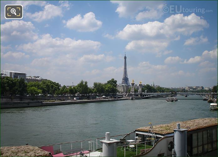 River Seine 8th Arrondissement Of Paris
