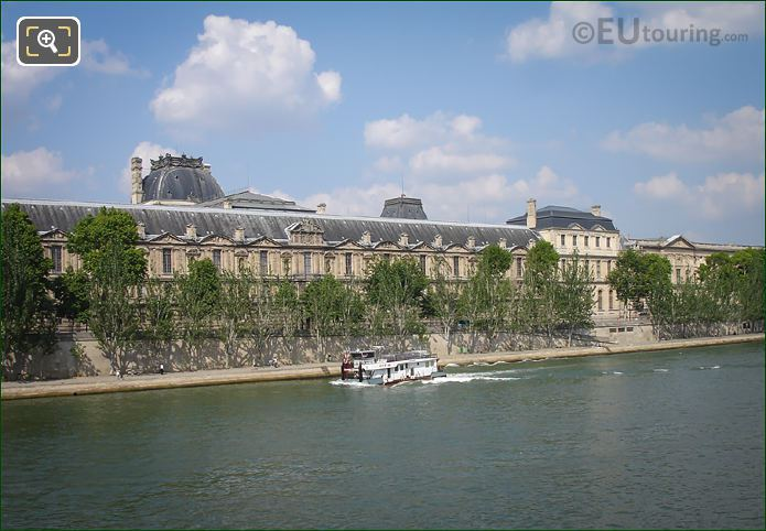 River Seine And Quai Francois Mitterrand