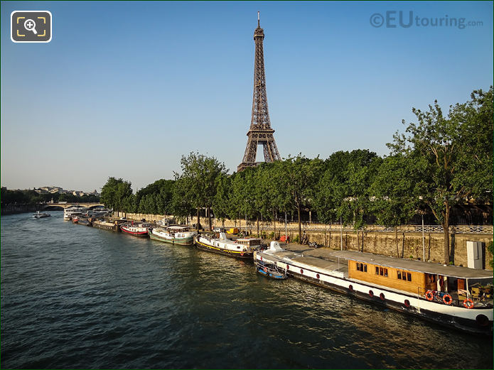 River Seine And Promenade d'Australie Paris