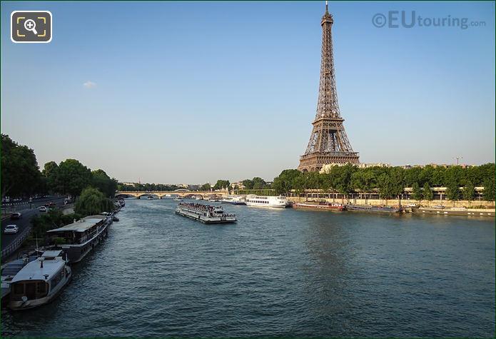 River Seine Port Debilly And Port De Suffren