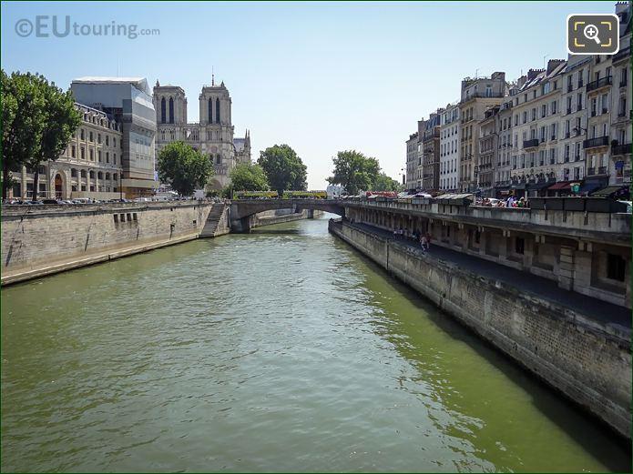 River Seine, Quai Saint Michel, Ile De La Cite