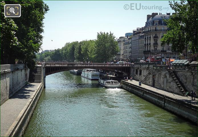 River Seine And Promenade Maurice Careme