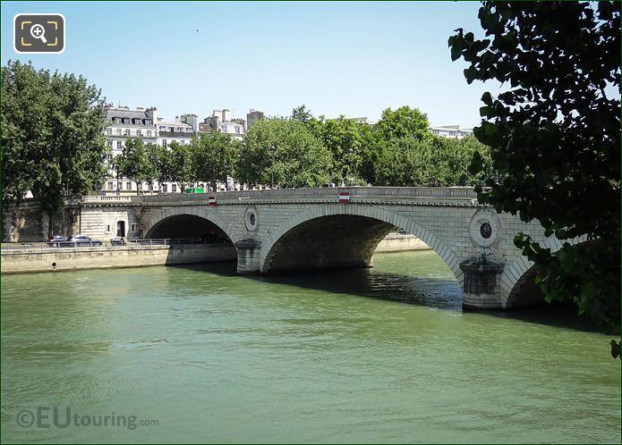 River Seine By Quai De l Hotel De Ville