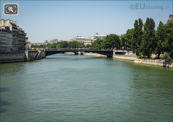 River Seine And Pont d'Arcole Paris