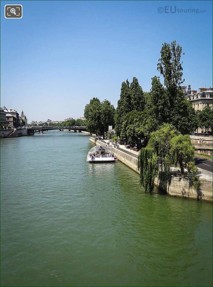 River Seine And Pont d'Arcole Paris