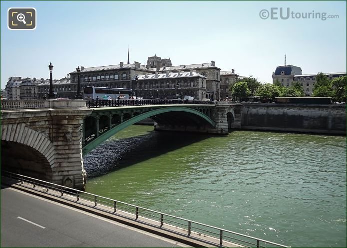 Hotel Dieu And The River Seine