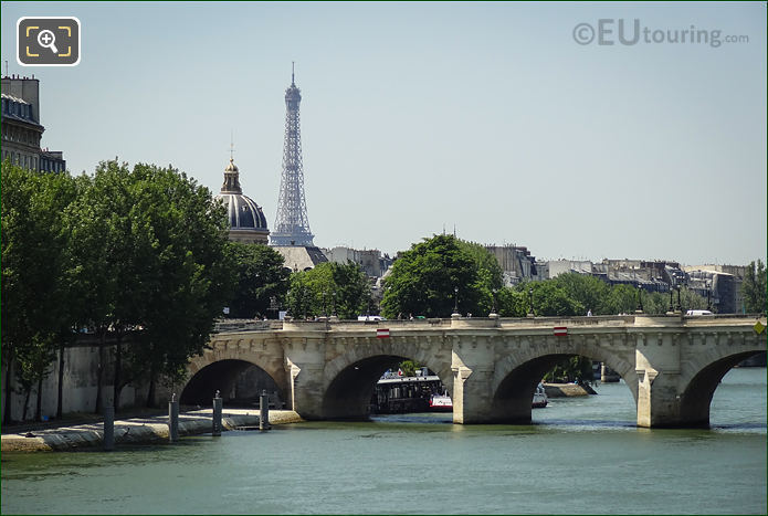 River Seine And The Pont Neuf