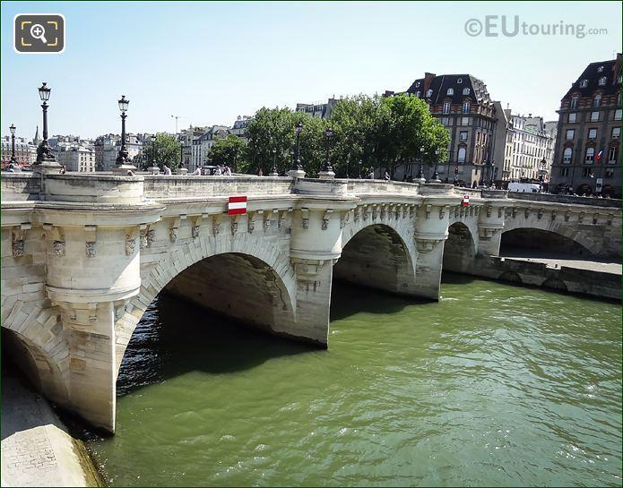 River Seine, Quai De Conti And Pont Neuf