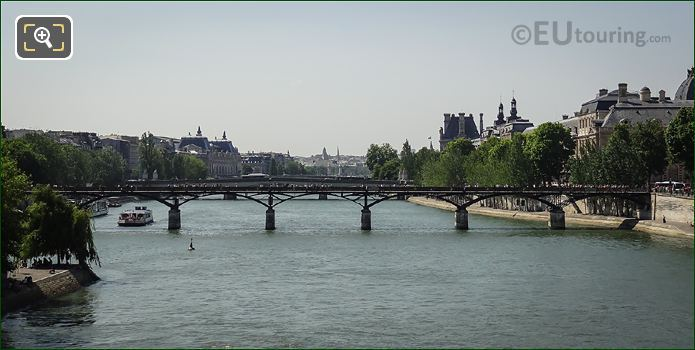River Seine In The 6th Arrondissement Paris