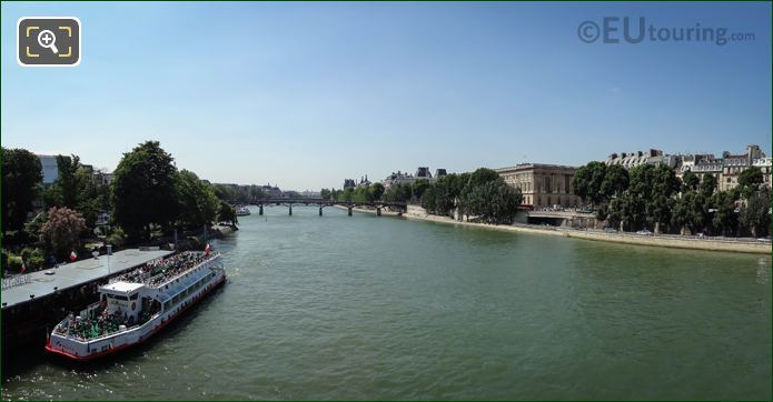 River Seine, Quai Du Louvre And Quai De l Horloge