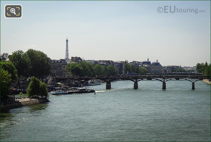 River Seine And Pont Des Arts