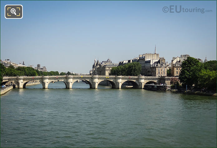 River Seine And Pont Neuf