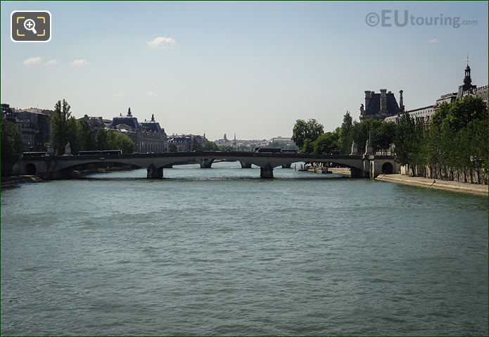 River Seine And The Pont Du Carrouse