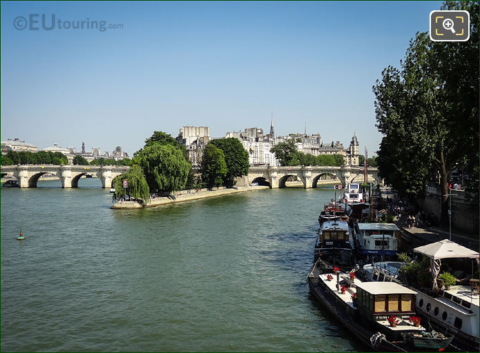 River Seine And Pont Neuf In Paris