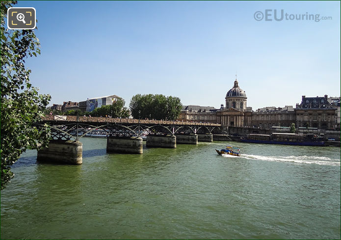 River Seine Pont Des Art Institut De France