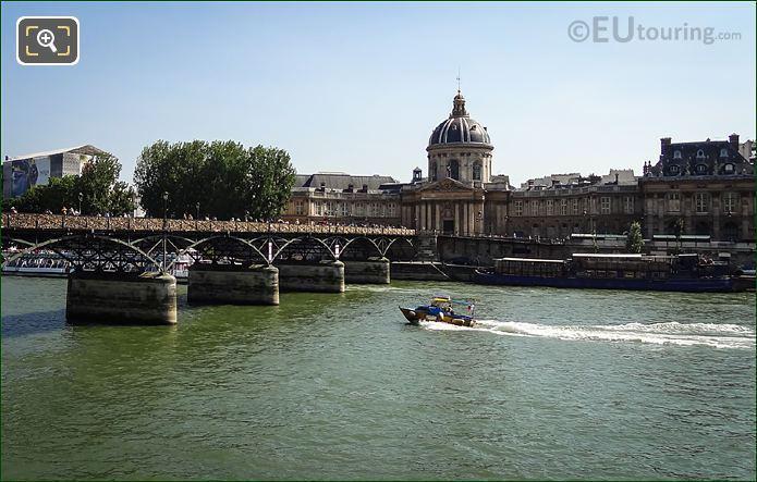 River Seine With Institut De France