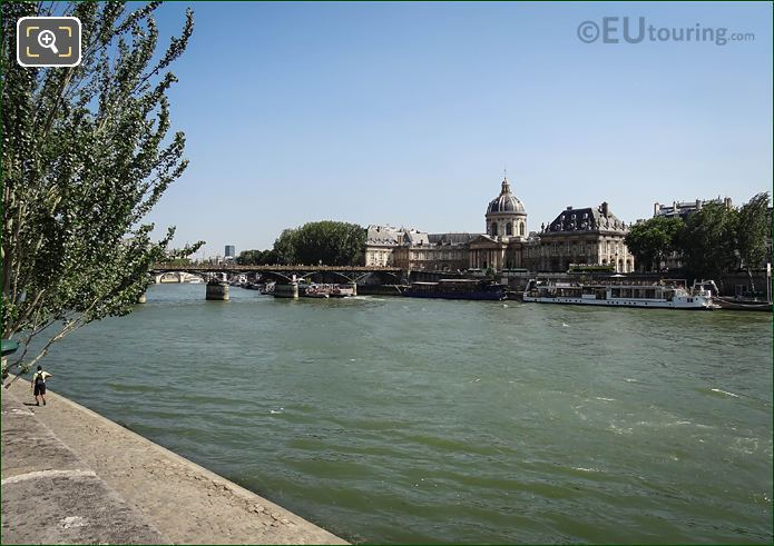 River Seine, Quai De Conti And Institut De France