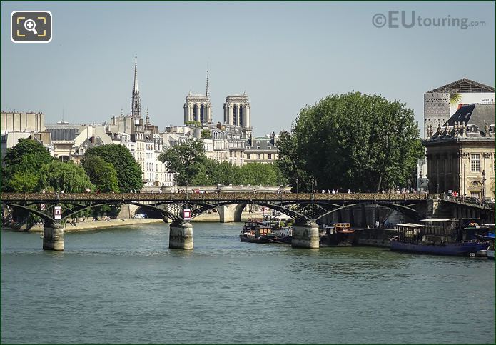River Seine And Pont Des Arts 6th Arrondissement